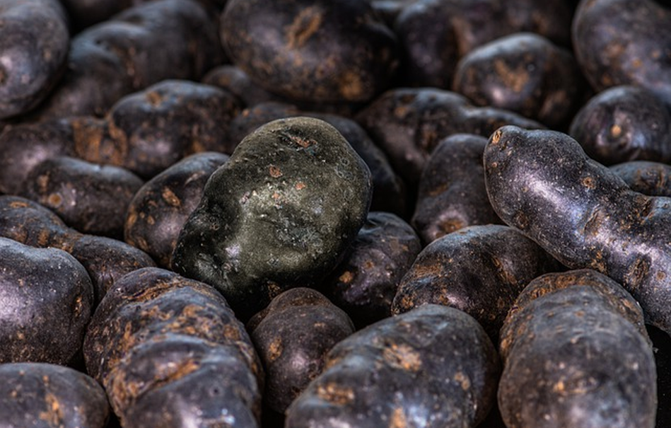 Purple Potatoes are the New Blueberry